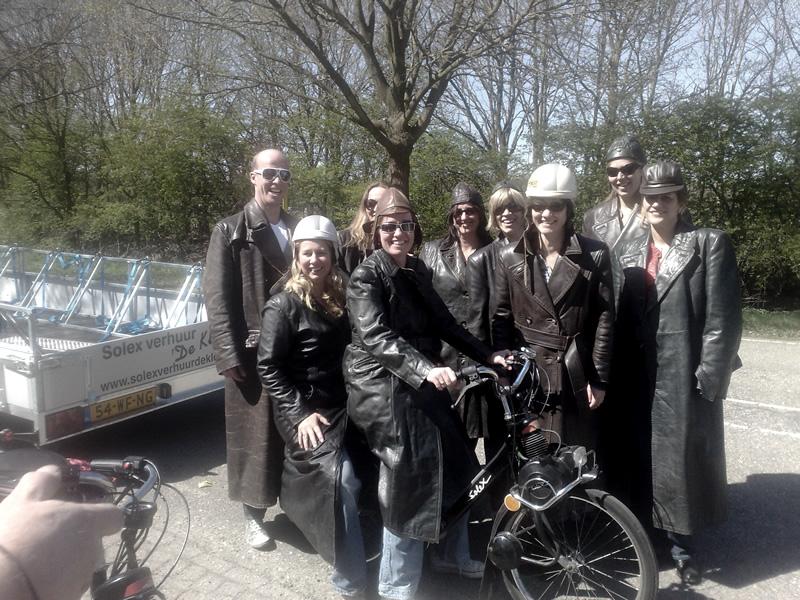 Solex huren Gelderland | Solex verhuur De Klomp